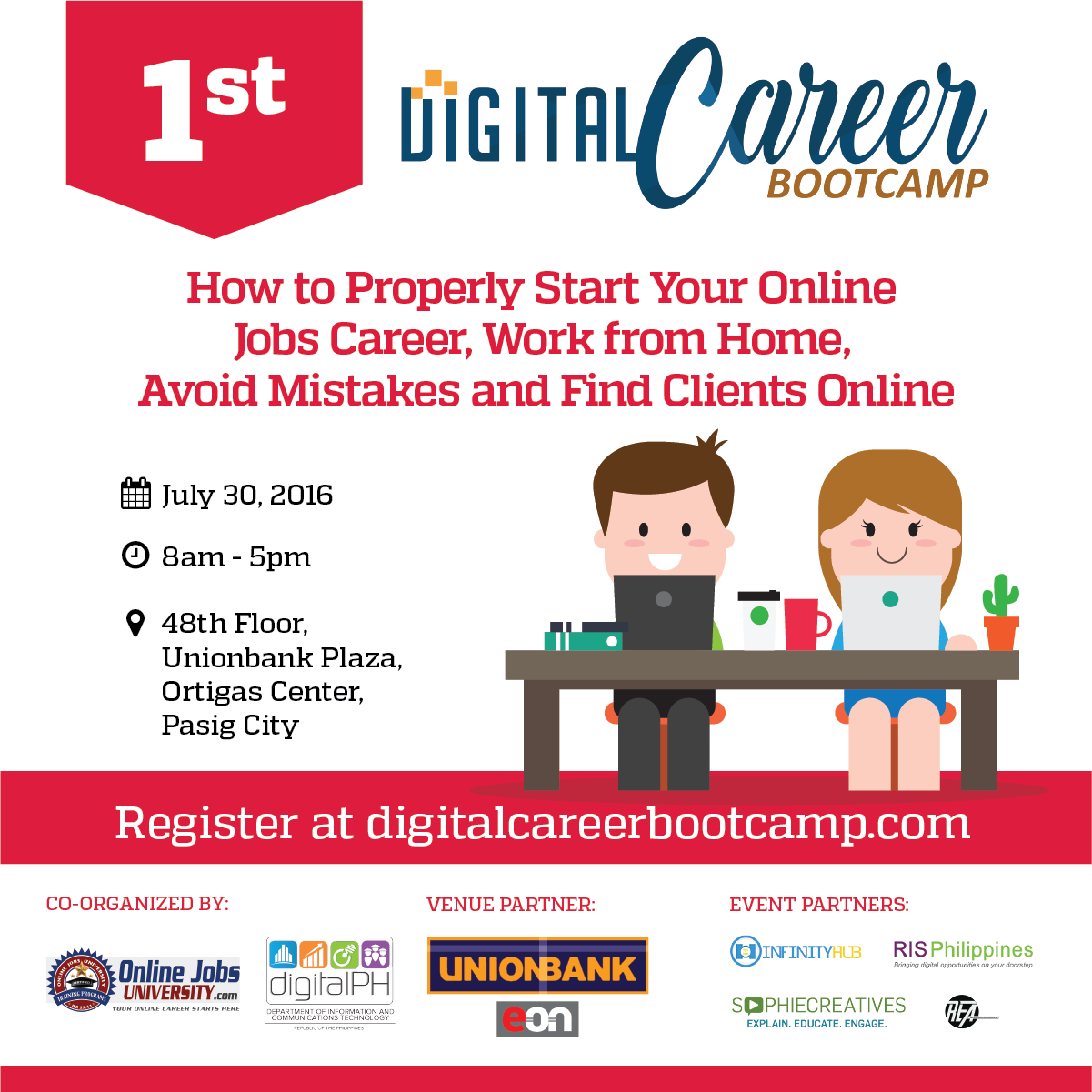 Dict Co Organize 1st Digital Career Bootcamp To Promote Online Jobs